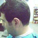 Detalle corte de pelo