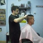 Retoque corte de pelo