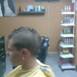 Corte de pelo cresta